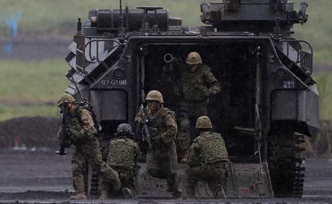 'Unless We Replace With Robots': Few Takers For Military Jobs In Japan