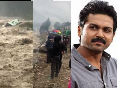 குலுமணாலி வெள்ளத்தில் சிக்கிய 'தேவ்' படக்குழுவினர்