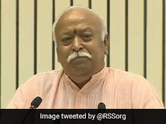 """""""Never Ask Volunteers To Work For A Particular Party"""", Says RSS Chief"""