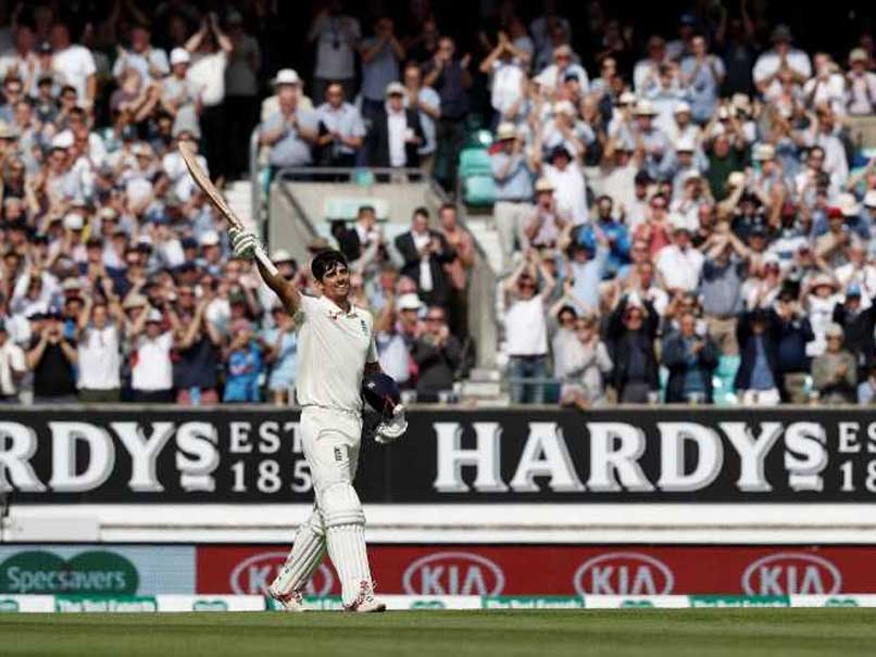 Watch: England Team's Priceless Reaction After Cook Reaches Century