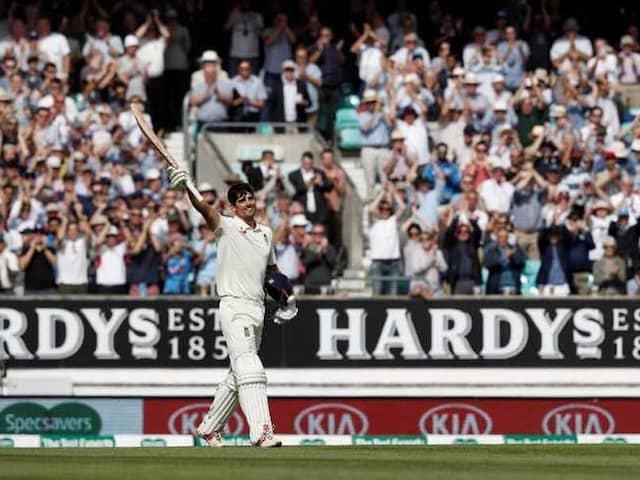 India vs England: Alastair Cook Hits Century In Farewell Test, England Cricket Teams Reaction Is Priceless. Watch