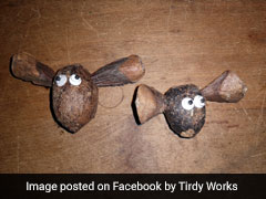 Artwork Made From Moose Poop Is A Surprise Hit Online