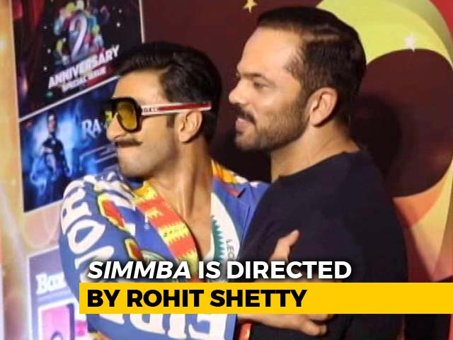 Simmba Actor-Director Duo Ranveer Singh And Rohit Shetty Make An Appearance