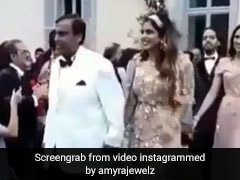 Watch: Mukesh Ambani Walks Daughter Isha At 'Fairytale' Engagement Party
