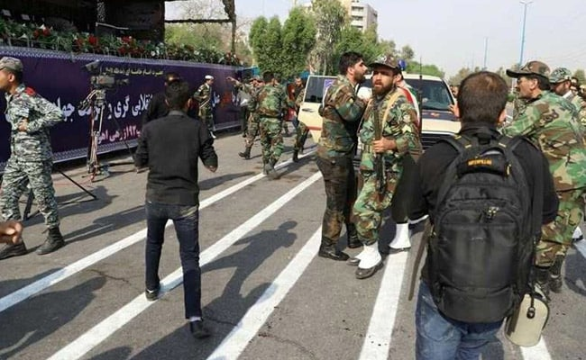 25 People Including 12 Revolutionary Guards Killed In Iran Parade Attack
