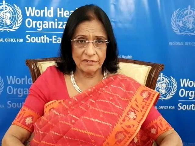 Video : Dr Poonam Khetrapal Stresses On Safe Sanitation