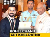 Video: Virat Kohli, Chanu Conferred Khel Ratna; Neeraj, Hima Get Arjuna Award