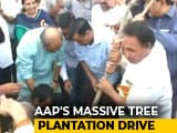 Video : Arvind Kejriwal Launches Mega Drive To Plant 5 Lakh Saplings In A Day