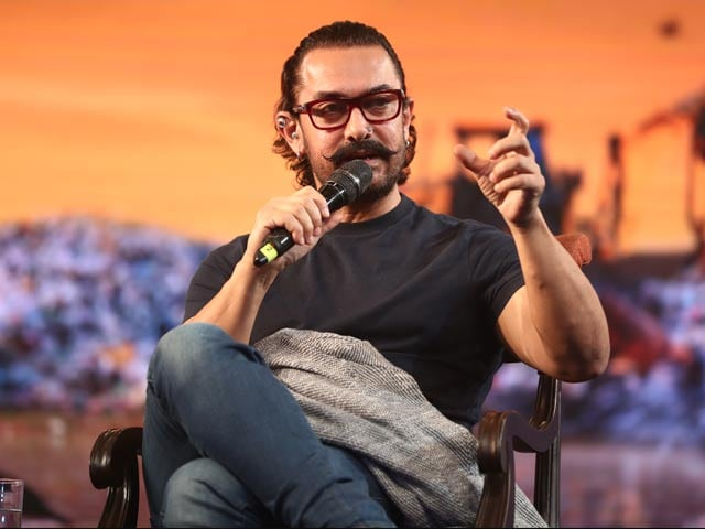 """Video : """"It Hits Them In The Heart"""": Aamir Khan's 'Game' To Teach A Water Conservation Lesson"""
