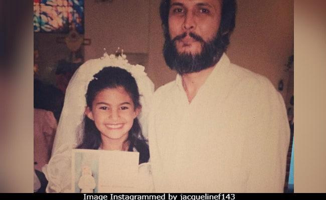 Jacqueline Fernandez's Million Dollar Smile Hasn't Changed A Bit Since She Was Little