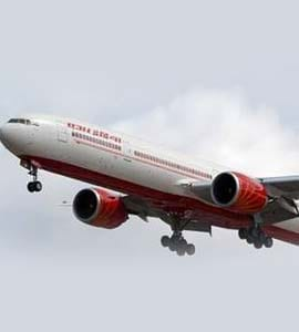 Air India Flight: With 370 On Board, Air India Flight Over