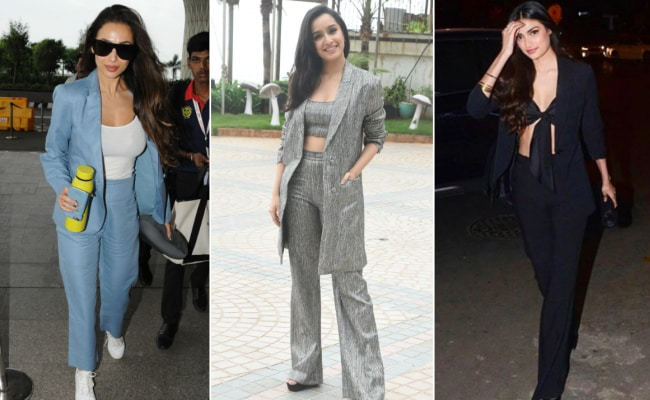 Pantsuits Keep Getting Better - Featuring Malaika Arora, Shraddha Kapoor, Athiya Shetty