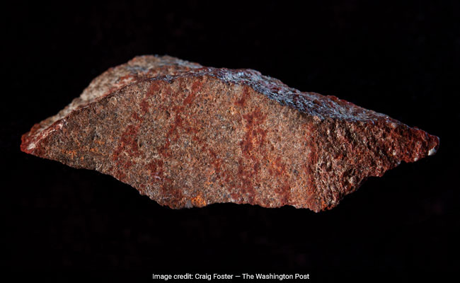 Archaeologists Just Found The Oldest Drawing - A 70,000-Year-Old Hashtag