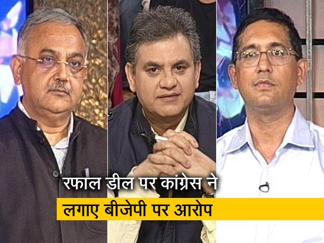 Videos : मुकाबला : रफाल और माल्या जैसे मुद्दे बीजेपी के लिए 2019 में मुसीबत बनेंगे?