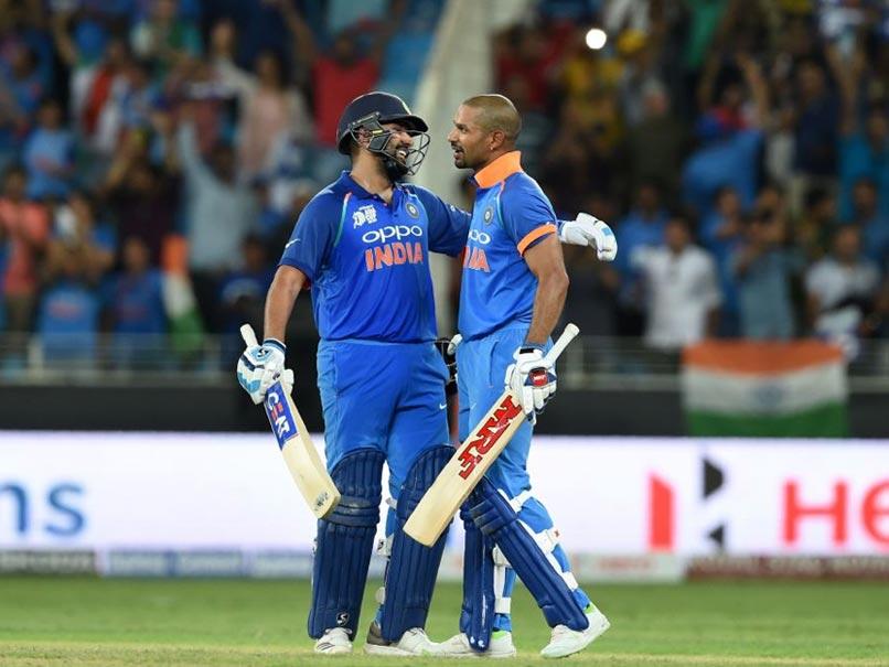 Image result for India thrash Pak by nine wickets in Asia Cup, Rohit, Shikhar hit tons