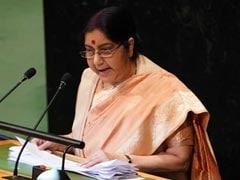 """Pak Glorifies Killers, Blind To Blood of Innocents"": Sushma Swaraj At UN"