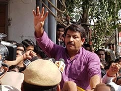 """Tampered With Seal As """"Symbolic Protest"""": Manoj Tiwari To Top Court"""