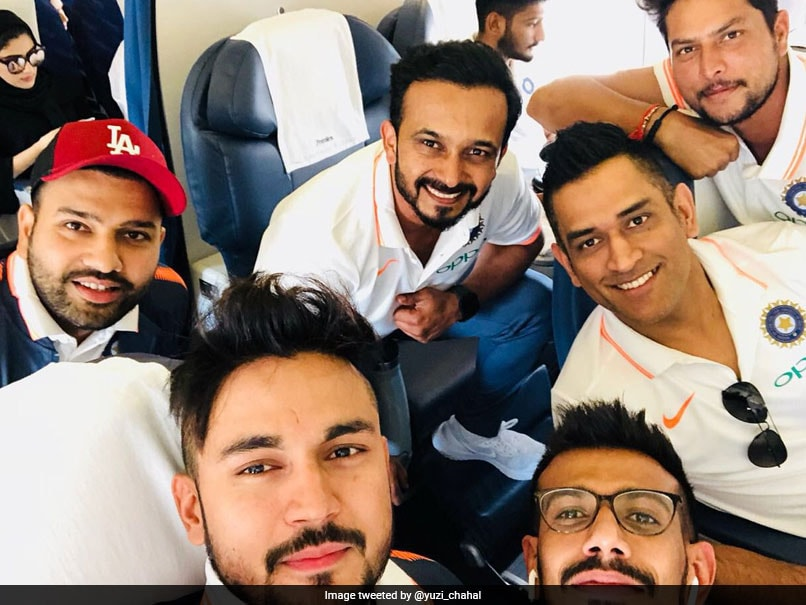 MS Dhoni Returns To Action As Team India Departs For Asia Cup 2018