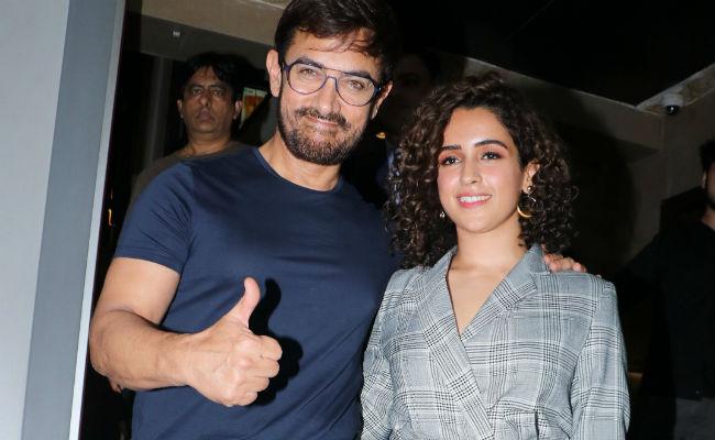 Aamir Khan And Team Dangal's Dhamakedaar Support For Sanya Malhotra's Pataakha