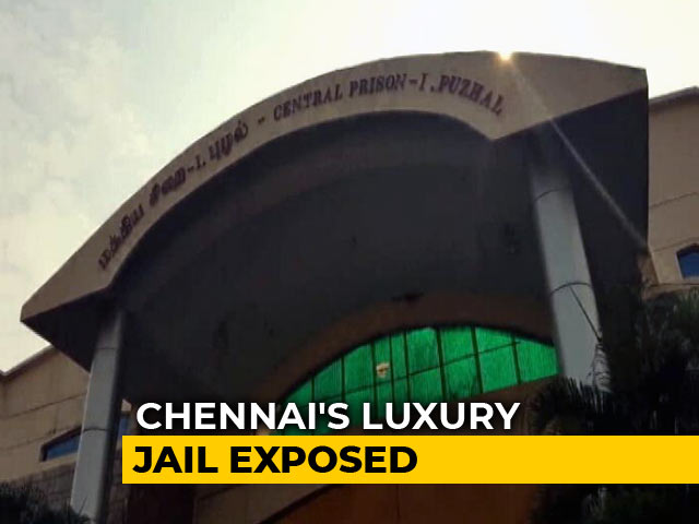 Video : TVs Removed From Chennai Jail To Prevent Inmates From Charging Cellphones