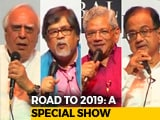 Video : Kapil Sibal, P Chidambaram, Chandan Mitra, Sitaram Yechury On 2019 Battle