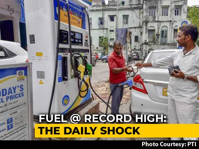 Video : Fuel Prices At Fresh Record Highs