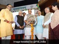 """A Shield For The Poor"": Rajnath Singh Launches Health Scheme In Lucknow"