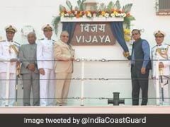 Coast Guard Vessel 'Vijaya' Commissioned To Watch Over Eastern Coast