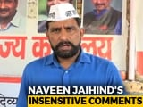 Video : While Condemning Gang-Rape, AAP's Haryana Leader's Appalling Comment