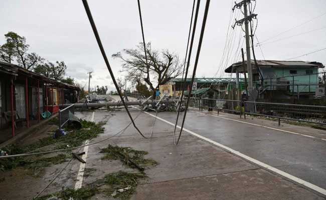 At Least 4 Dead As Super Typhoon Mangkhut Hits The Philippines