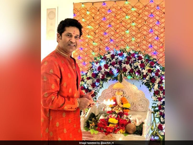 Here's How Indian Cricketers Are Celebrating Ganesh Chaturthi