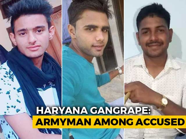 Video : Army Man Involved In Haryana CBSE Topper's Rape, Say Cops