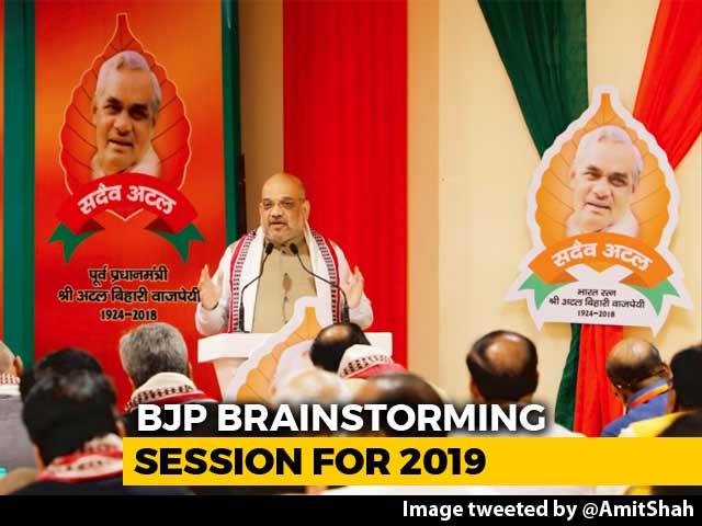 Video : BJP To Fight 2019 Polls Under Amit Shah, Internal Polls Deferred: Sources