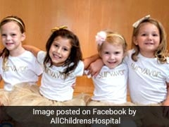Four Girls Who Beat Cancer Together Reunite For Heartwarming Photograph