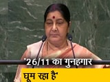 Video : संयुक्त राष्ट्र में सुषमा स्वराज का पाकिस्तान पर अटैक, बोलीं- पाक की हरकत से बातचीत रुकी