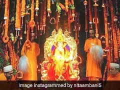 Inside The Ambani's Ganesh Chaturthi Celebrations At Their Mumbai Home