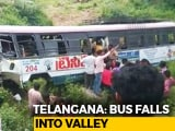 Video : 52 Including Six Children Dead After Bus Falls Into Valley In Telangana