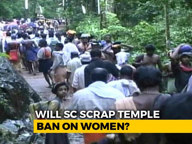 Video : Will Sabarimala Temple Ban On Women Be Scrapped? Top Court Verdict Today