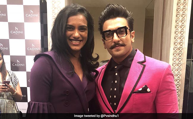 Ranveer Singh And P V Sindhu's Mutual Admiration Society