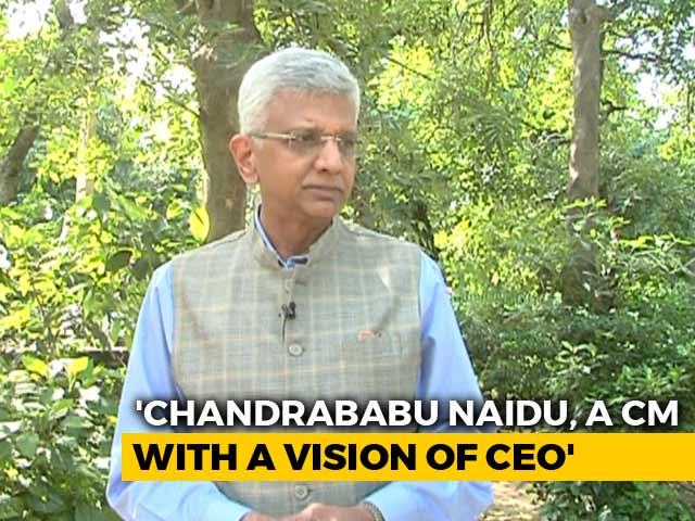 Video : Chandrababu Naidu, CEO-like Chief Minister, Says Adman Ambi Parameswaran