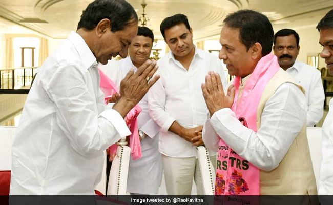 Faux Pas In Congress' Telangana Manifesto Shows Telangana