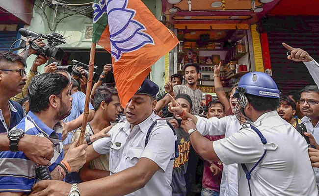 BJP Calls 12-Hour Bandh In Bengal A 'Success'; 1 Killed, 1,600 Arrested