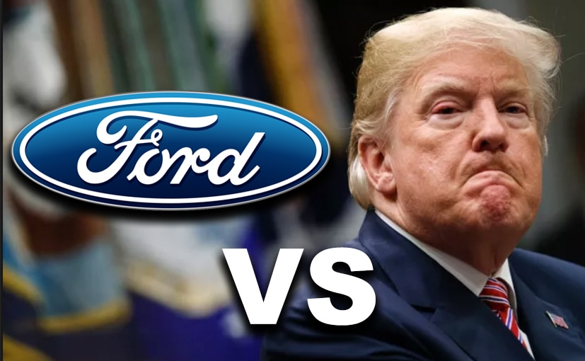TRUMP VS FORD