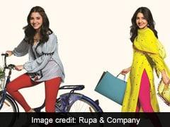 88fa594047 Rupa   Company Ropes In Anushka Sharma For Leggings Brand