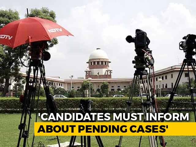 Video : On 'Criminal' Politicians, Top Court Leaves It To Parliament