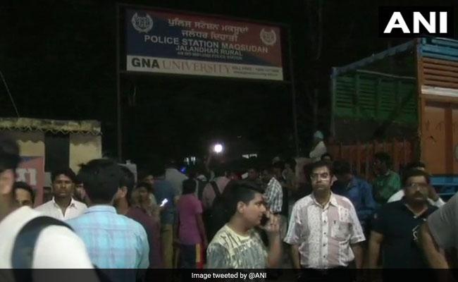 Blast After 'Explosives Thrown' At Jalandhar Police Station, Cop Injured