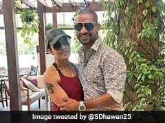 Shikhar Dhawan's Wife Aesha Reveals How She Met Him For The First Time