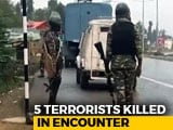 Video : 5 Terrorists Killed In Fierce Encounter In South Kashmir's Kulgam
