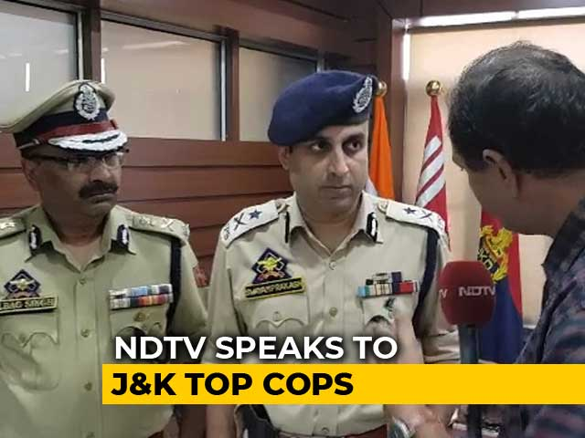 Video : J&K Police Discount Resignation Videos, Say Morale High Despite Killings