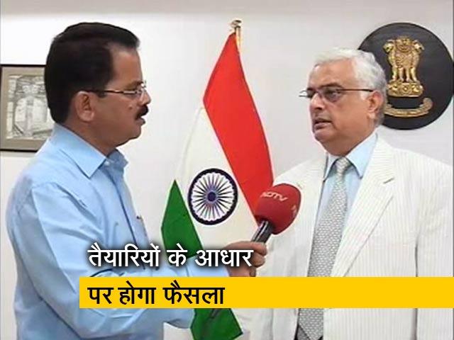 Videos : Exclusive : तेलंगाना चुनाव को लेकर NDTV से यह बोले मुख्य चुनाव आयुक्त